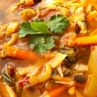 Hot & Sour Soup ~ Plant-Based Comfort Food