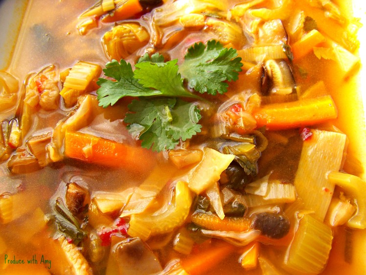Hot and Sour Soup by Produce with Amy