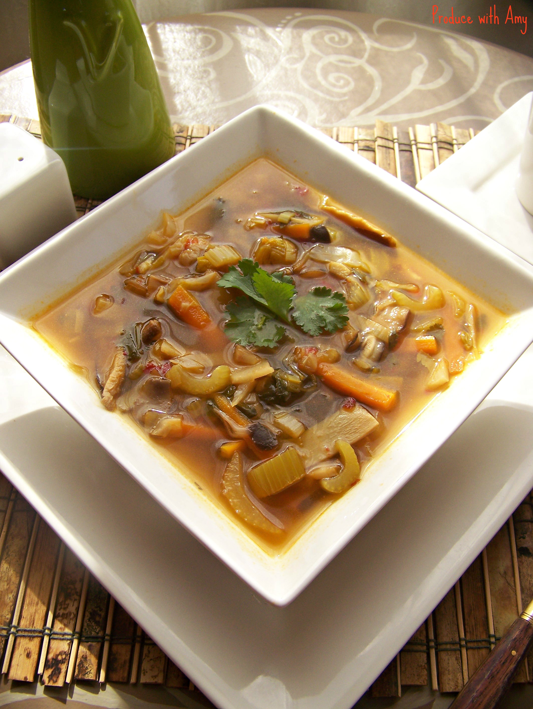 Hot & Sour Soup, My Spicy Comfort Food Recipes — Dishmaps