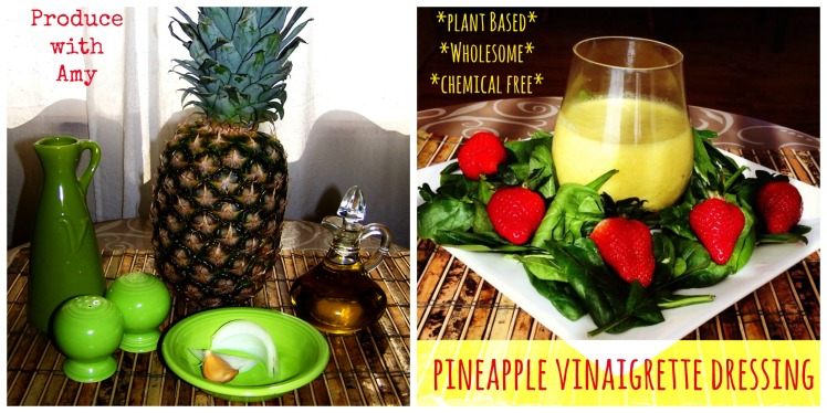 Pineapple Vinaigrette Dressing by Produce with Amy