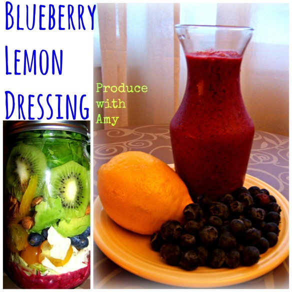 Blueberry Lemon Dressing by Produce with Lemon