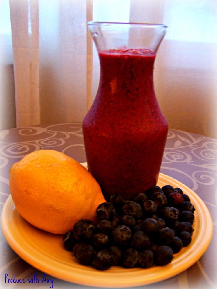 Blueberry Lemon Dressing