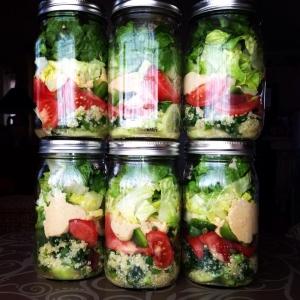 Israeli Feast Jar Salads