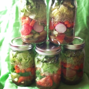 Mike's Jar Salads
