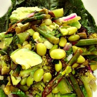 Verdant Salad with Spring Green Vegetables
