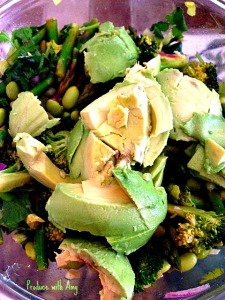 Verdant Salads with Avocado