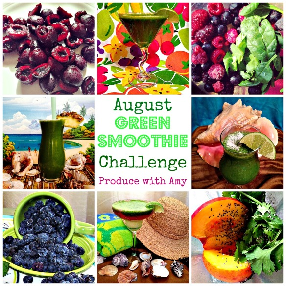 August Green Smoothie Challenge by Produce with Amy