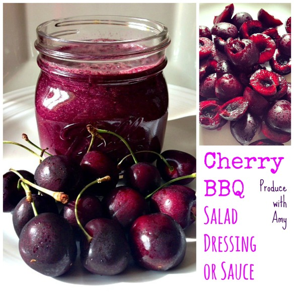 Cherry BBQ Salad Dressing or Sauce by Produce with Amy