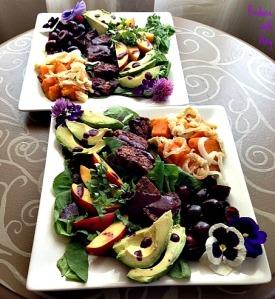 Cherry BBQ Salads