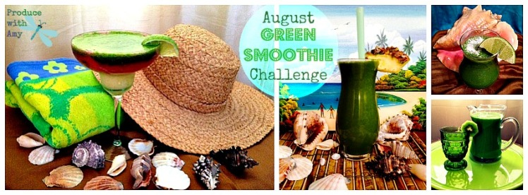 Cover Photo August Green Smoothie Challenge