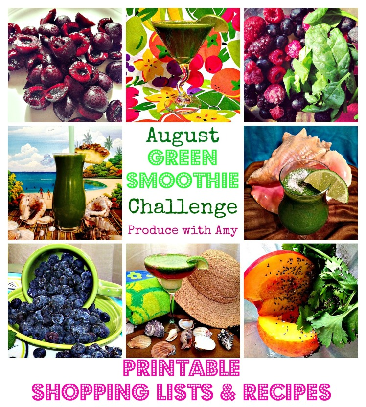 Summer Green Smoothie Challenge by Produce with Amy