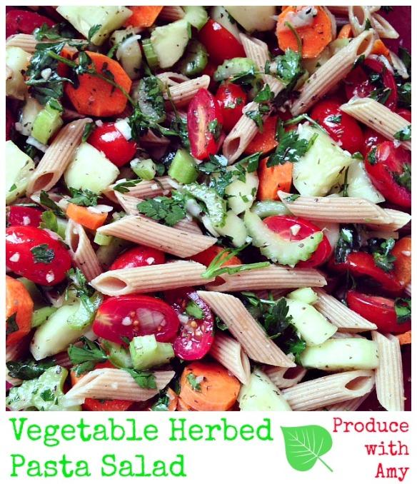 Vegetable Herbed Pasta Salad