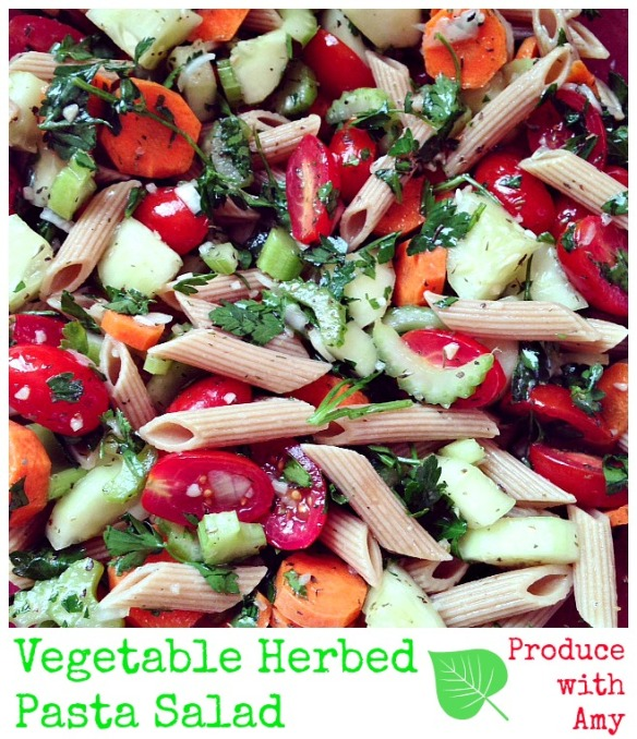 Vegetable Herbed Pasta Salad