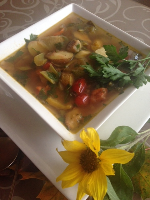 Roasted Vegetable Stew by Produce with Amy