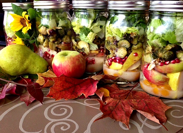 Fall Fusion Salad by Produce with Amy