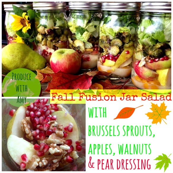 Fall Fusion Jar Salad by Produce with Amy