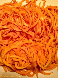 Spiralized Butternut Squash