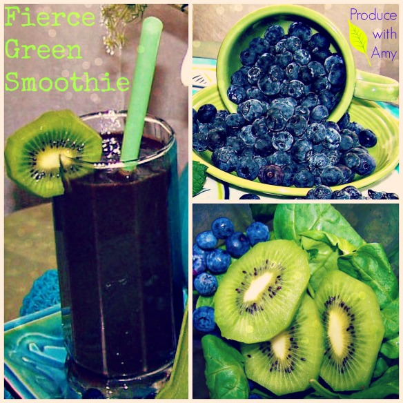 Fierce Green Smoothie by Produce with Amy
