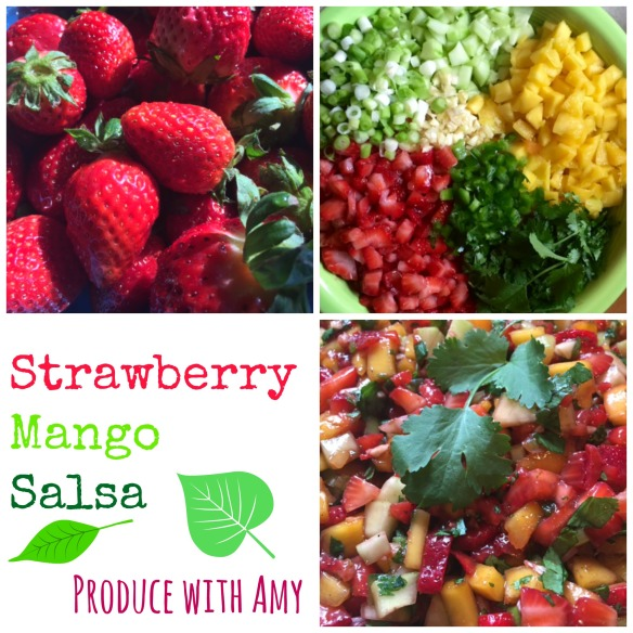 Strawberry Mango Salsa by Produce with Amy