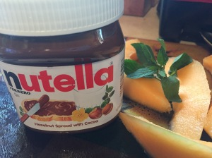 Nutella is one of Avalon's favorite spreads.