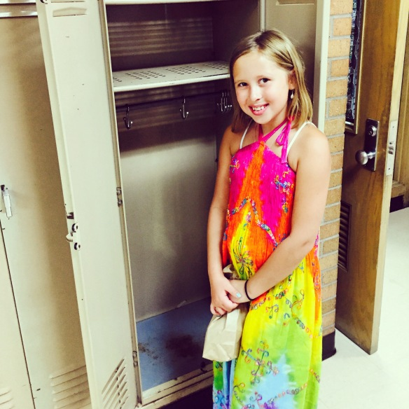 Check out the size of Avalon's locker!