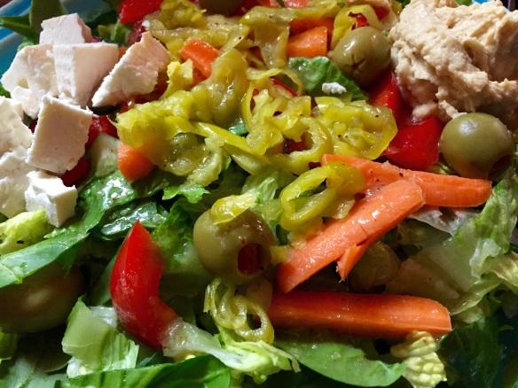 My dinner salad.