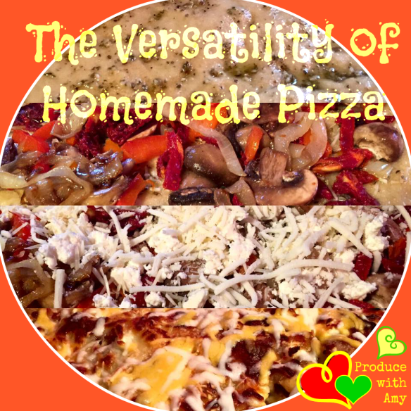 The Versatility of Homemade Pizza by Produce with Amy