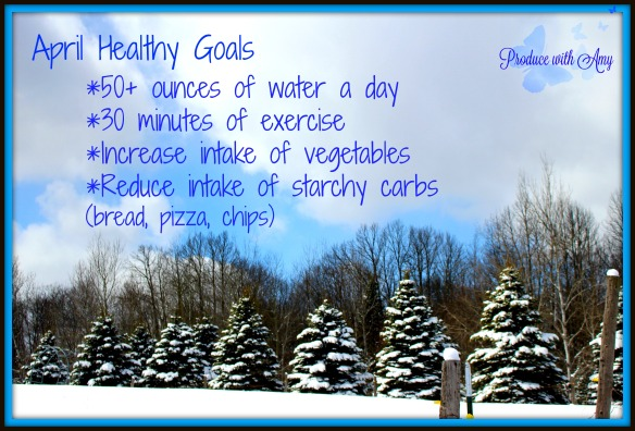April Healthy Goals