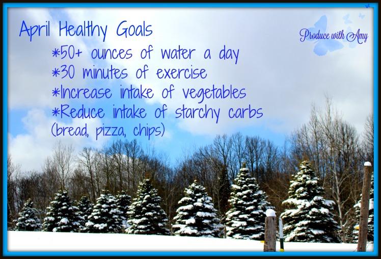 April Healthy Goals