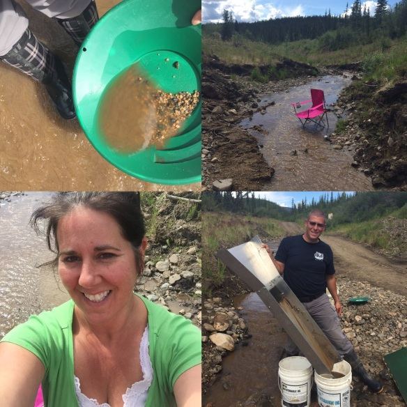 Prospecting for Gold in Chicken Alaska