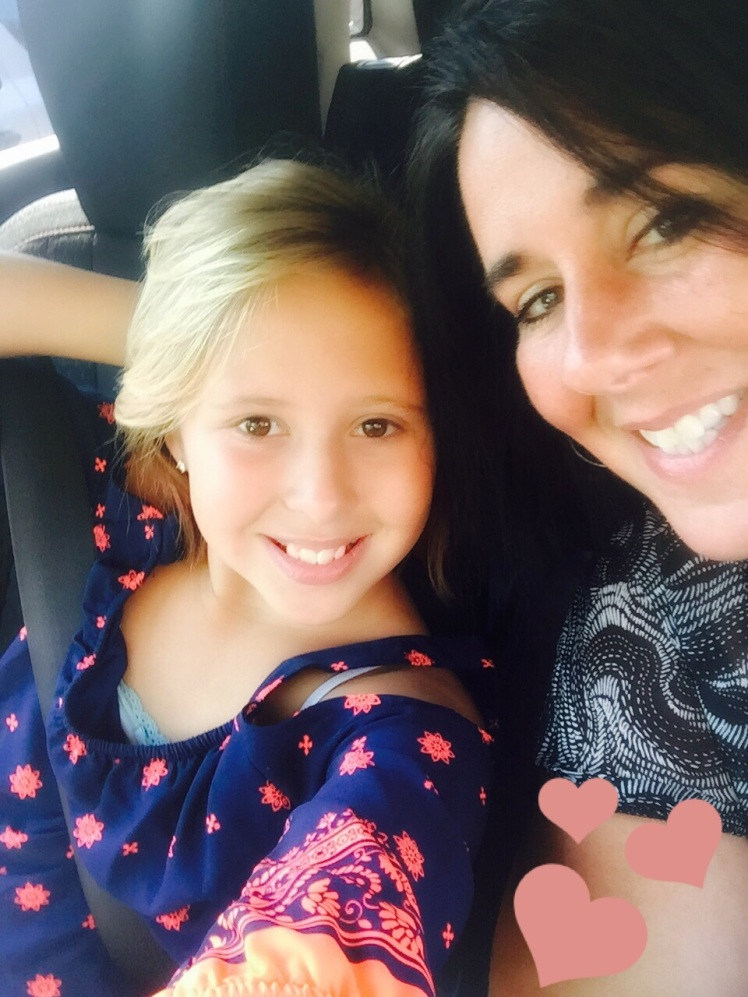 Avalon and I had a spa day and got our back to school haircuts.