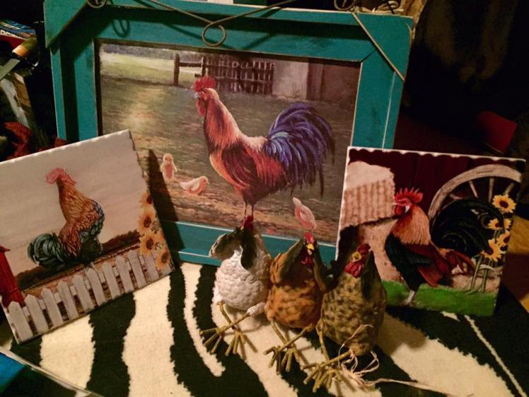 The Crazy-Chicken-Lady gifts. Love them!