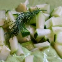 Spring Fever Remedy: Cucumber Soup